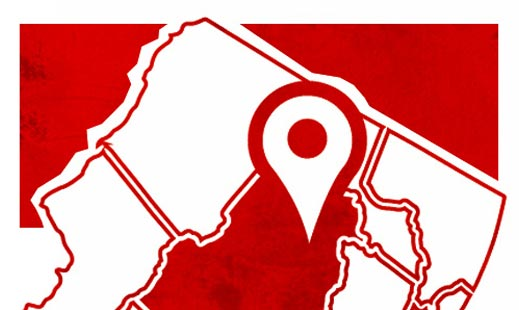 our service area in rockaway NJ