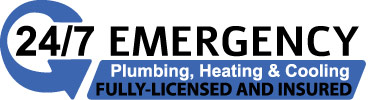 24/7 emergency plumbing heating and cooling fully-licenced and insured